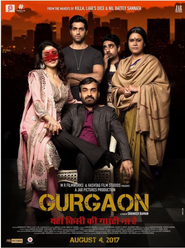Gurgaon (2017) 300MB HDRip Hindi 480p x264
