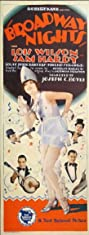 Broadway Nights (1927) Poster