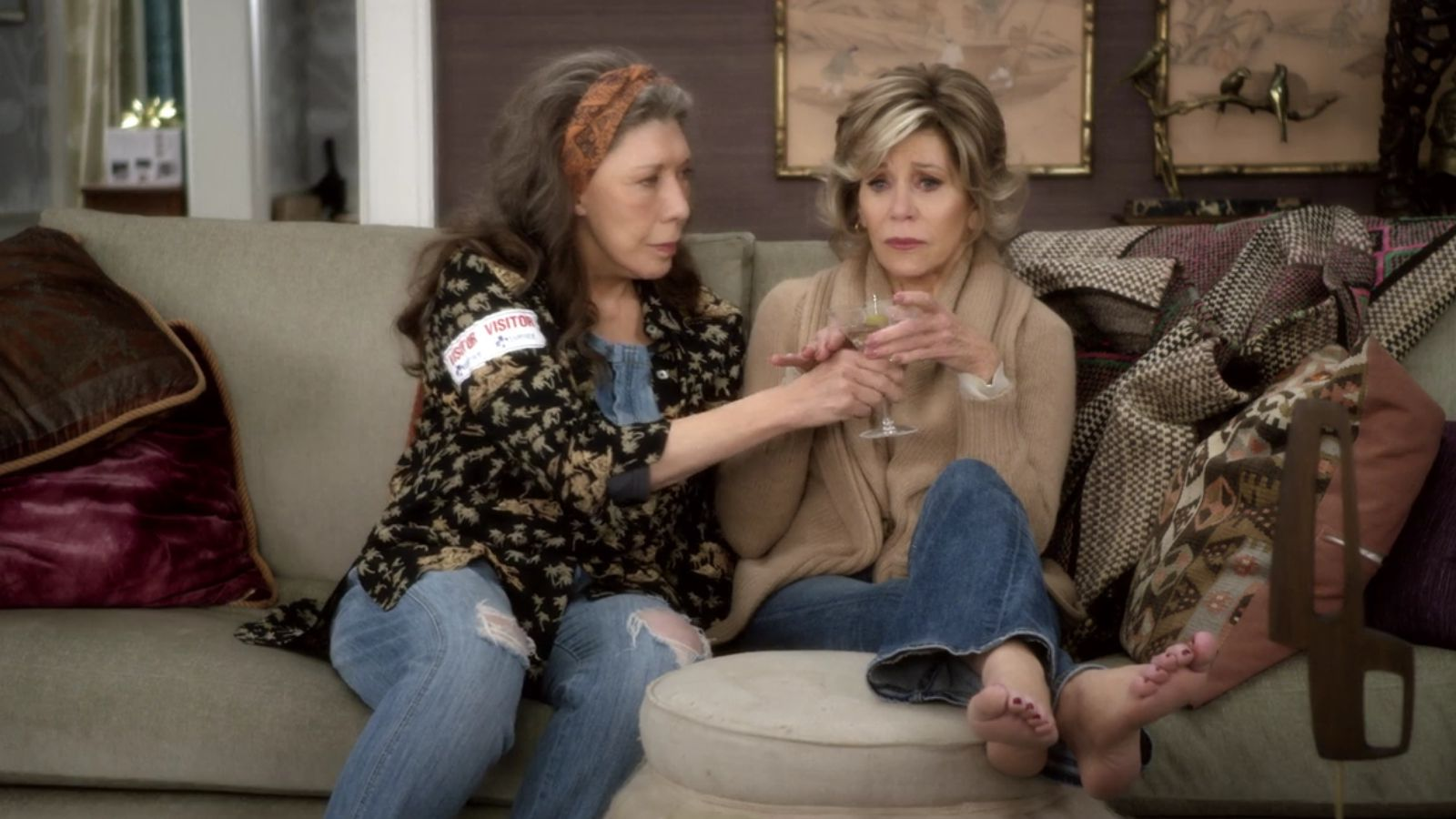 Grace and Frankie: The Vitamix | Season 2 | Episode 2