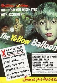 The Yellow Balloon Poster