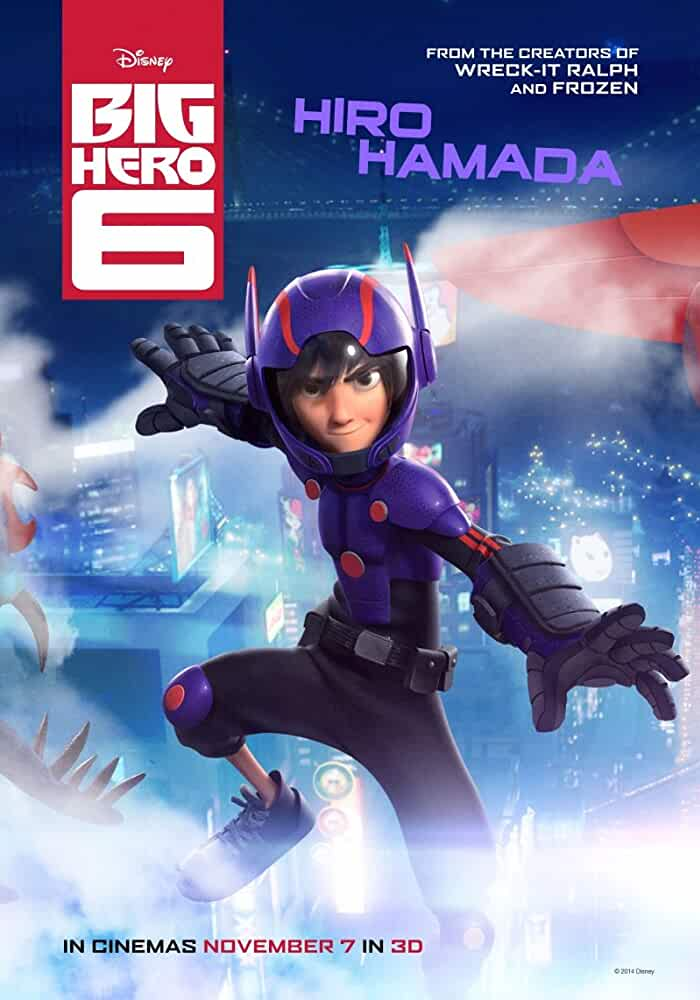 Big Hero 6 2014 Full Movie 720p BluRay Dual Audio Online Download