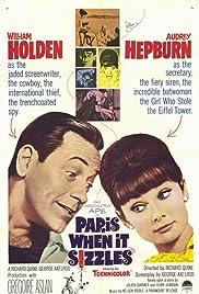 Paris When It Sizzles(1964) Poster - Movie Forum, Cast, Reviews