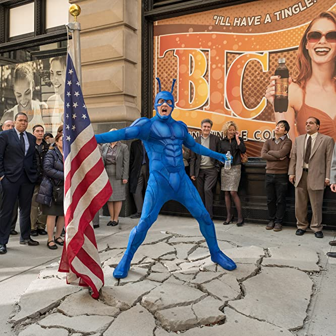 Peter Serafinowicz in The Tick (2017)