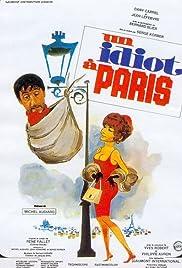 Un idiot à Paris Poster
