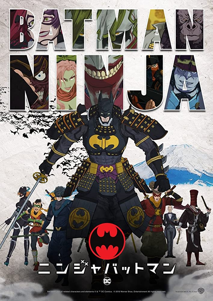 Batman Ninja 2018 English Movie  650Mb