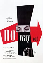No Way Out (1950) Poster - Movie Forum, Cast, Reviews