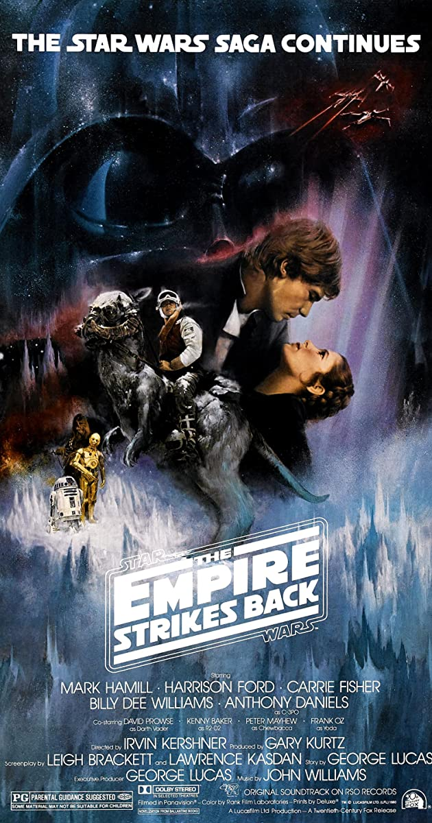 Star Wars Episode 5 The Empire Strikes Back (1980)