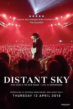 Distant Sky – Nick Cave & The Bad Seeds Live in Copenhagen Poster