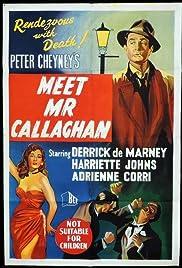 Meet Mr. Callaghan Poster
