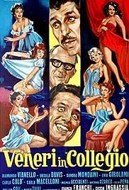 Image result for VENERI IN COLLEGIO ( 1966 ) POSTER