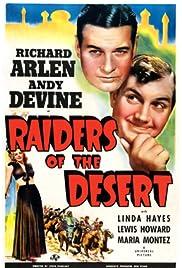 Raiders of the Desert Poster