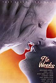 9½ Weeks Poster