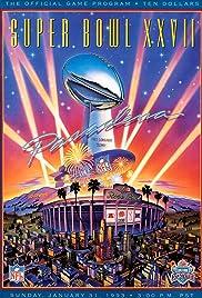 Super Bowl XXVII Poster