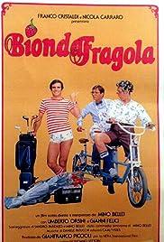Bionda fragola Poster