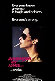 Remember My Name(1978) Poster - Movie Forum, Cast, Reviews