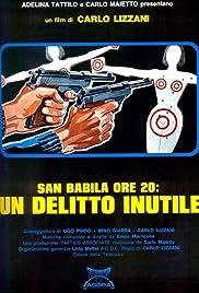 San Babila ore 20: un delitto inutile Poster