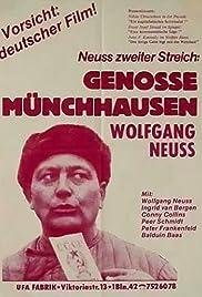 Genosse Münchhausen Poster