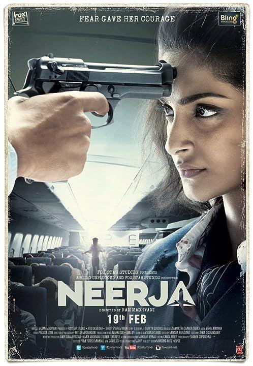 Sonam Kapoor in Neerja 2016 Full Movie Download Hindi 720p BRRip watch online