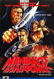 Maniac Killer Poster