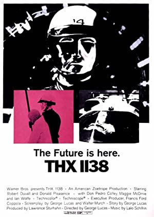 THX 1138 poster