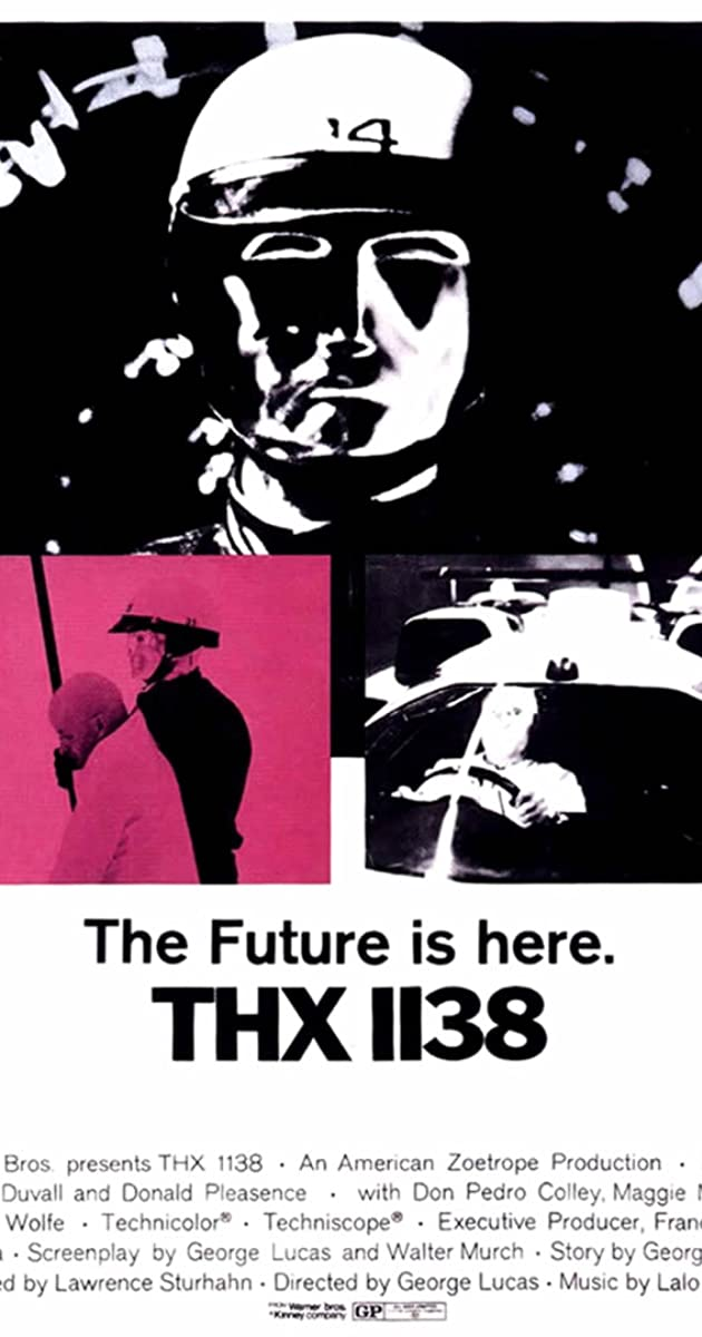 Image result for thx 1138