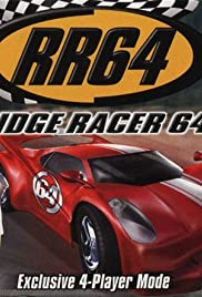 Ridge Racer 64 Poster