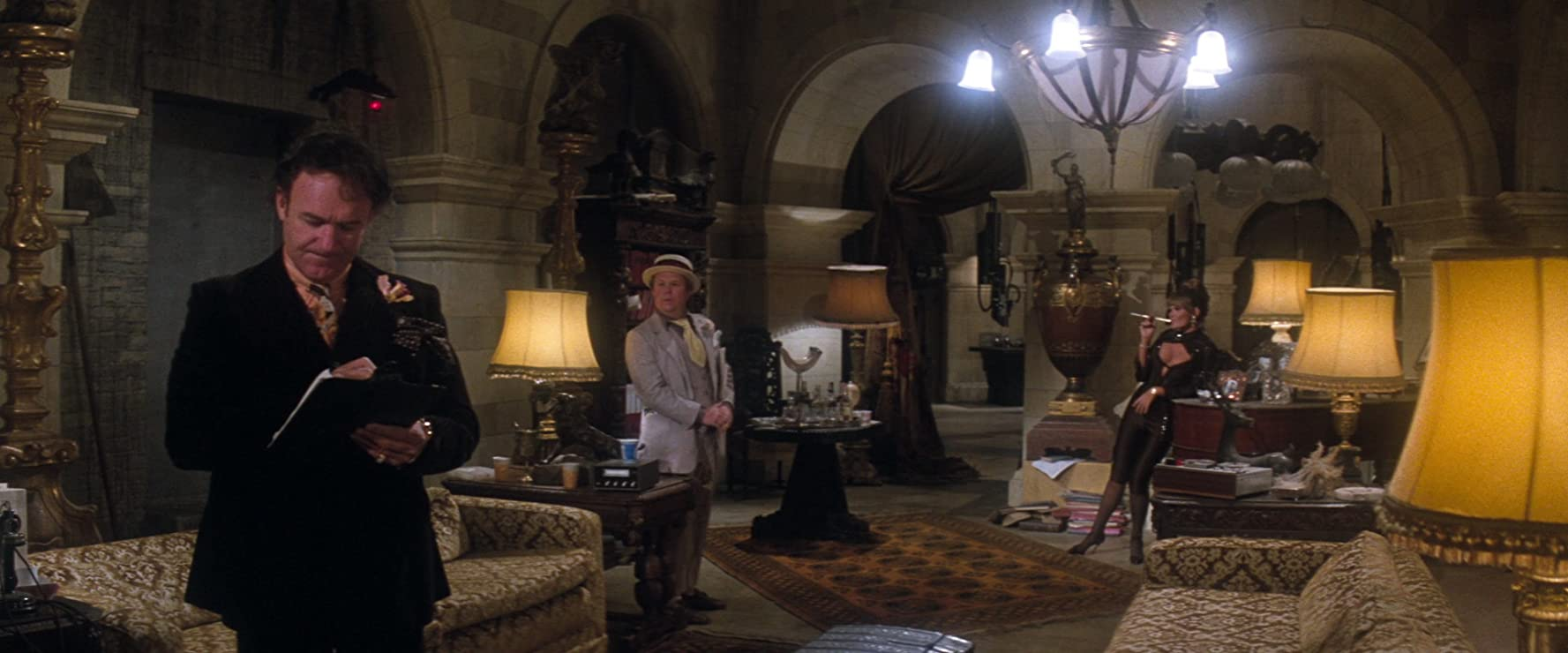 Gene Hackman, Ned Beatty, and Valerie Perrine in Superman (1978)