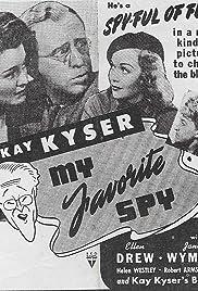 My Favorite Spy(1942) Poster - Movie Forum, Cast, Reviews