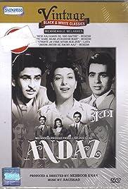 Andaz(1949) Poster - Movie Forum, Cast, Reviews