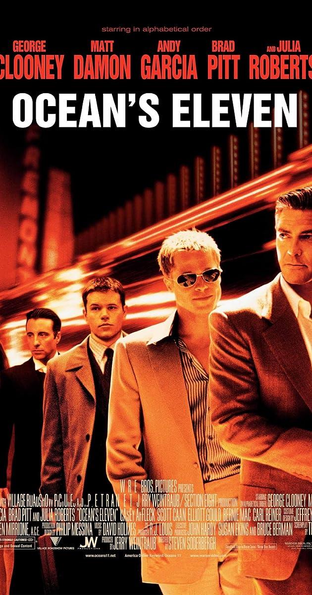 Watch Ocean's Eleven (2001) Online Movie Free GoMovies ...