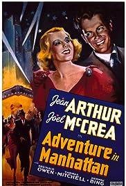 Adventure in Manhattan Poster