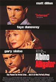 Albino Alligator Poster