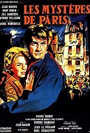 Les mystères de Paris(1962) Poster - Movie Forum, Cast, Reviews