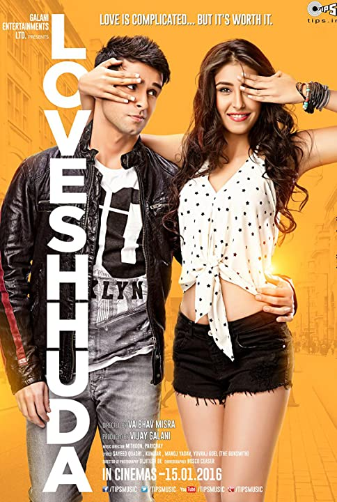 Poster Of LoveShhuda (2016) Full Movie Hindi Dubbed Free Download Watch Online At movies365.in