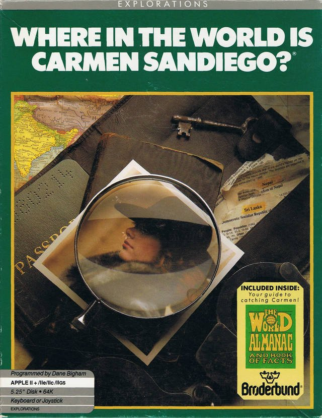 Where in the World Is Carmen Sandiego? (1985)
