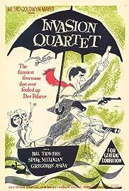 Invasion Quartet(1961) Poster - Movie Forum, Cast, Reviews