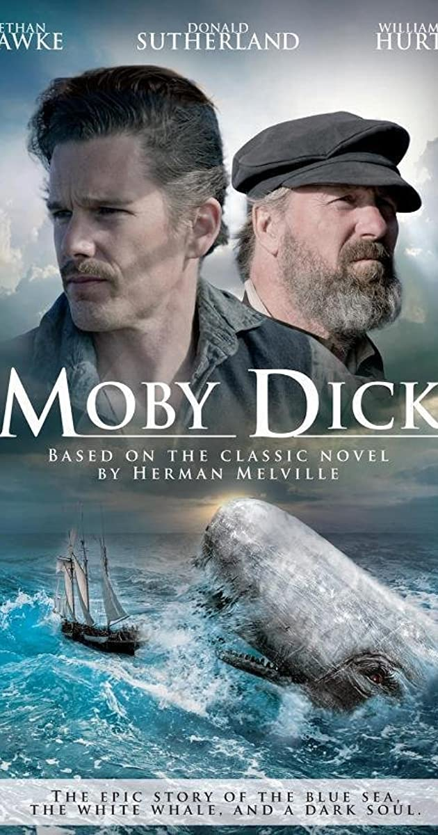 Names of the main characters in moby dick-7050