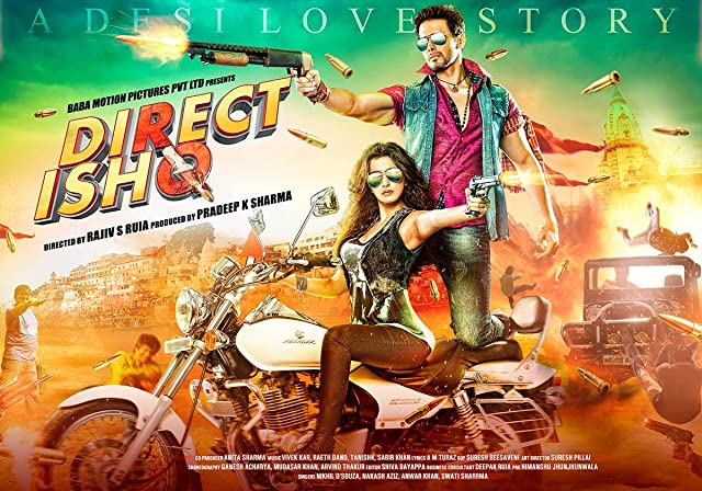 Poster Of Direct Ishq (2016) Full Movie Hindi Dubbed Free Download Watch Online At movies365.in