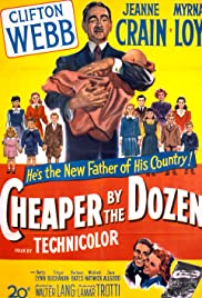 Cheaper by the Dozen (1950) Poster - Movie Forum, Cast, Reviews