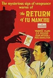 The Return of Dr. Fu Manchu Poster