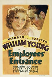 Employees' Entrance Poster
