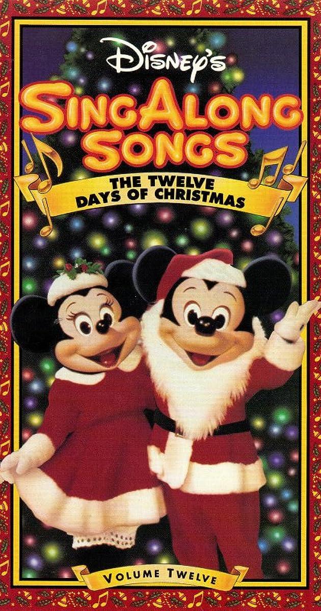Disney Sing-Along-Songs: The Twelve Days of Christmas ...