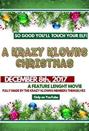 A Krazy Klowns Christmas Poster
