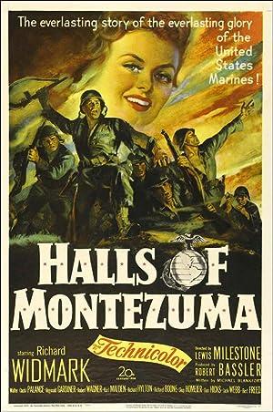 Halls of Montezuma poster
