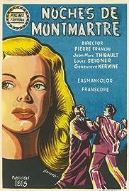 Les nuits de Montmartre Poster