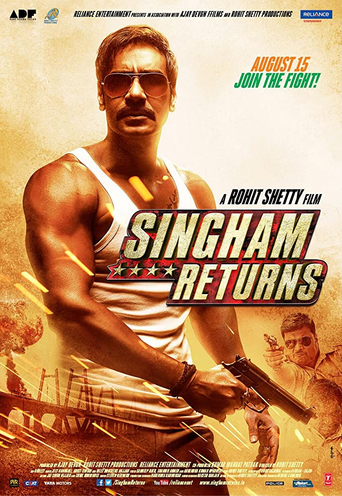 Ajay Devgan In Singham Returns