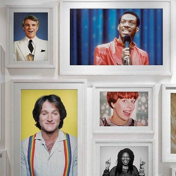 Whoopi Goldberg, Steve Martin, Robin Williams, Eddie Murphy, and Carol Burnett in The History of Comedy (2017)