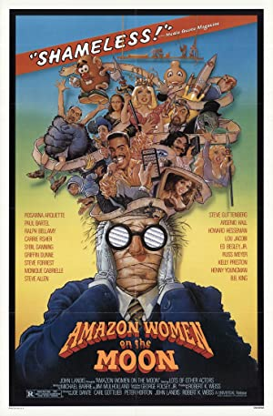 Amazon Women on the Moon poster