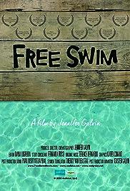 Free Swim Poster