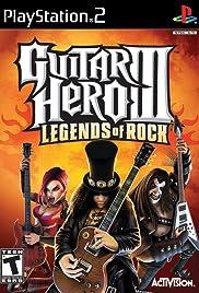 Guitar Hero III: Legends of Rock Poster
